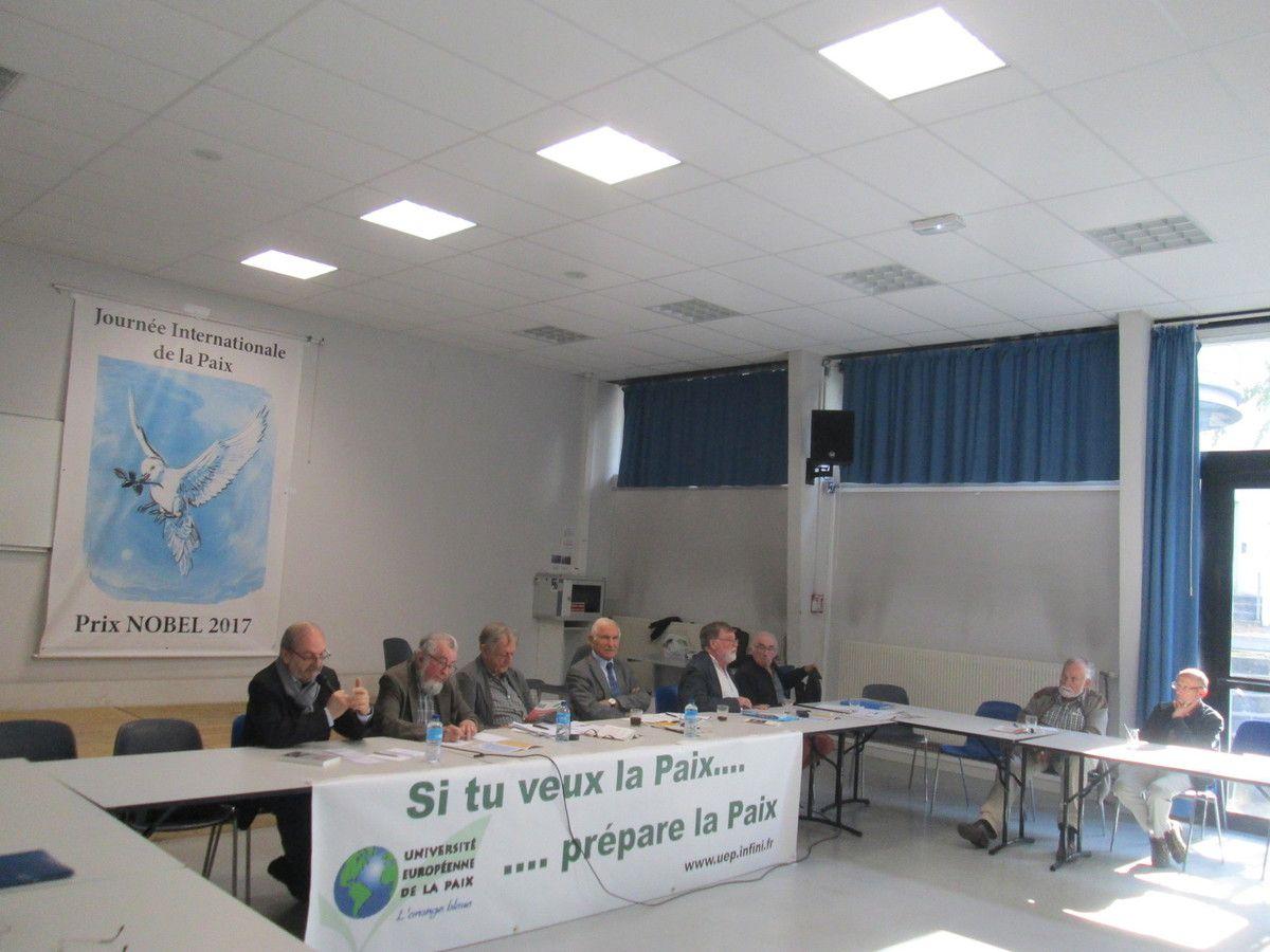 Un colloque passionnant pour l'abolition des armes atomiques à Brest le samedi 29 septembre avec Paul Quilès, Jacques Fath, Bernard Ravenel