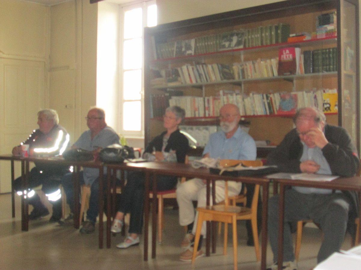 Congrès du PCF - débats sur les textes proposés pour servir de base commune de discussion le 19 septembre et 4 octobre 2018 avant le vote des adhérents de la section de Morlaix