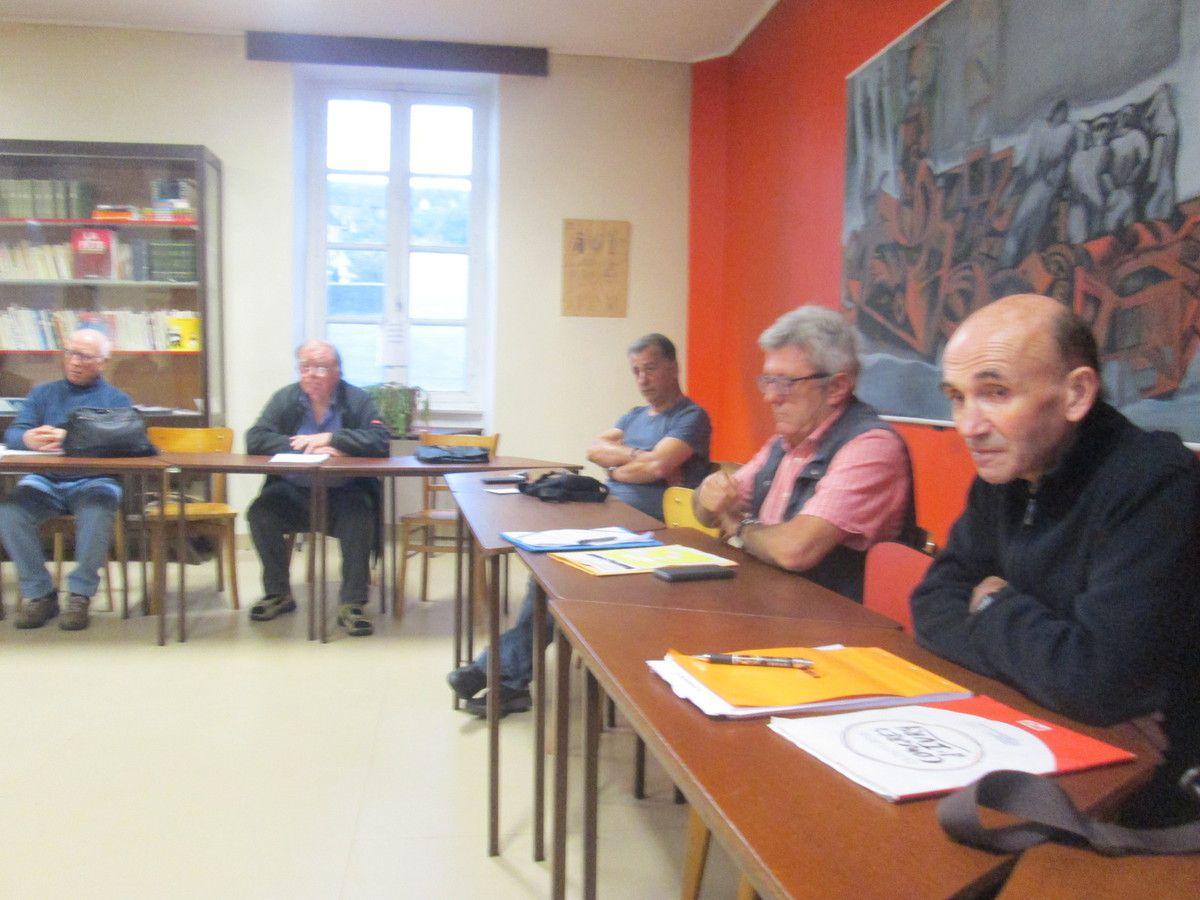 Congrès du PCF - Vote sur la base commune dans la section de Morlaix: les résultats et la suite du processus local du Congrès