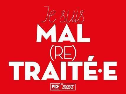 La section PCF du pays de Morlaix appelle au rassemblement des retraités en colère devant la permanence de Sandrine Le Feur, députée macroniste, place des Otages