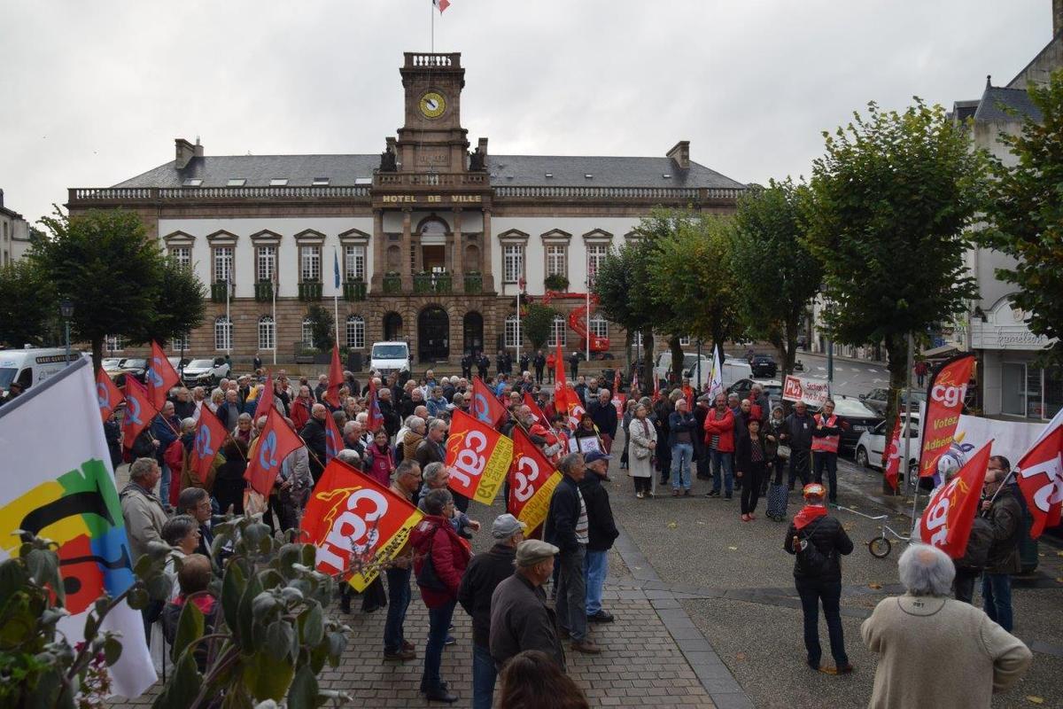 rassemblement du 18 octobre - photo Pierre-Yvon Boisnard