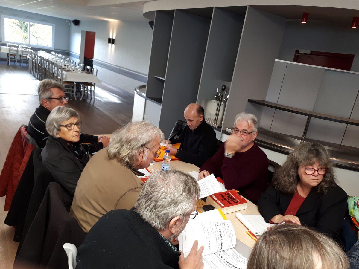 La délégation de Morlaix - photo Jean-Luc Le Calvez
