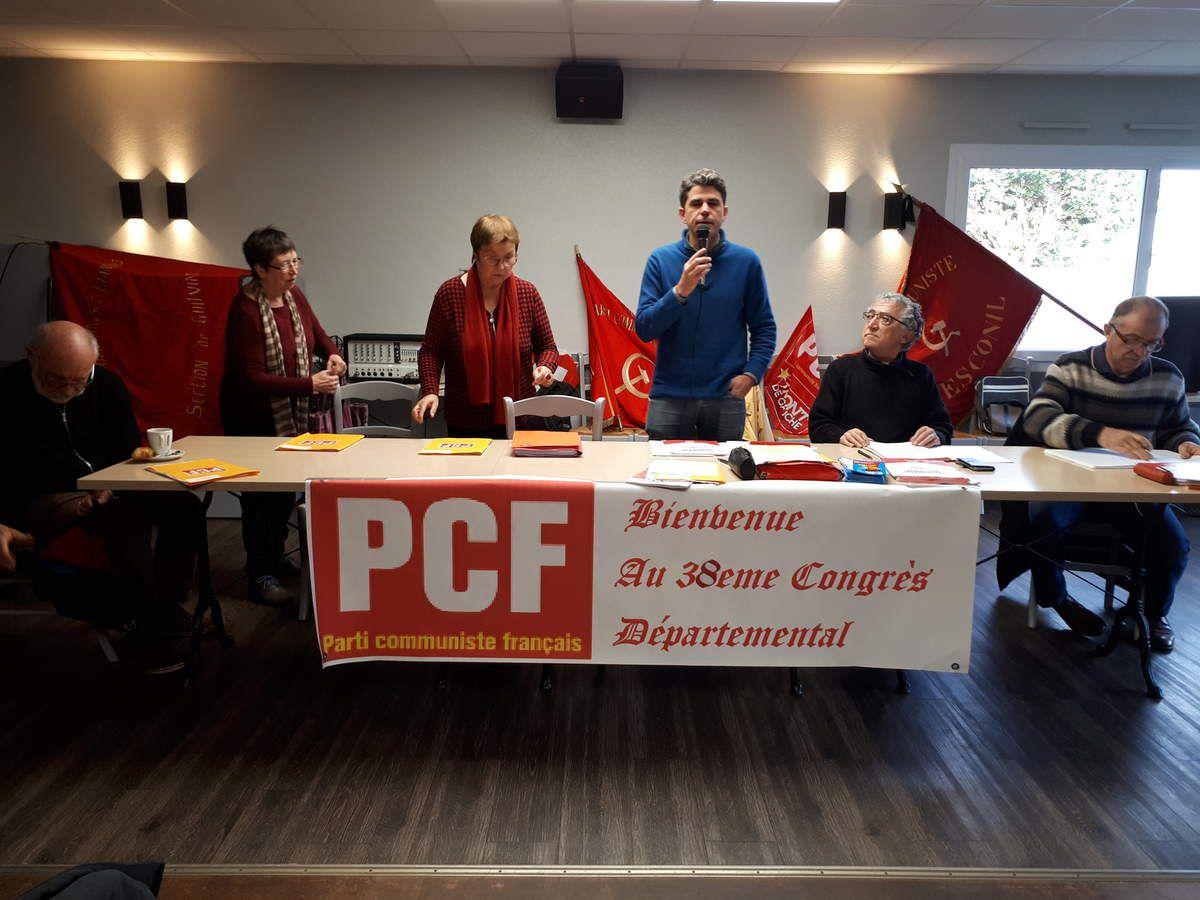 Le Parti communiste en Congrès (Ouest-France - page Finistère, lundi 12 novembre 2018)
