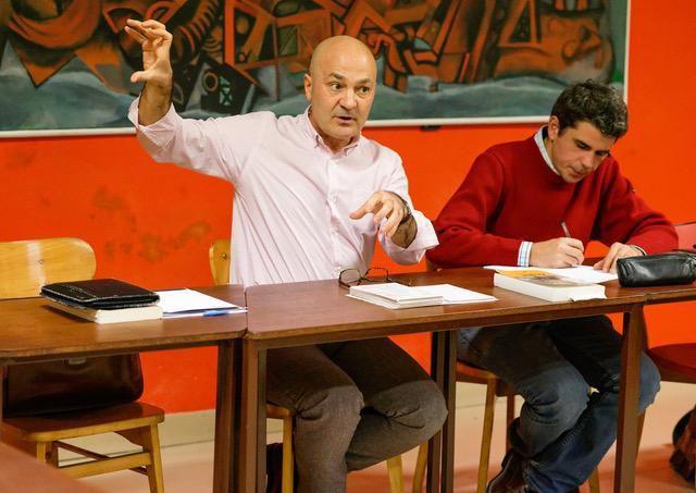 photo Jean-Marc Nayet Mardi de l'éducation populaire PCF Morlaix - 13 novembre 2018 - Valère Staraselki raconte Aragon
