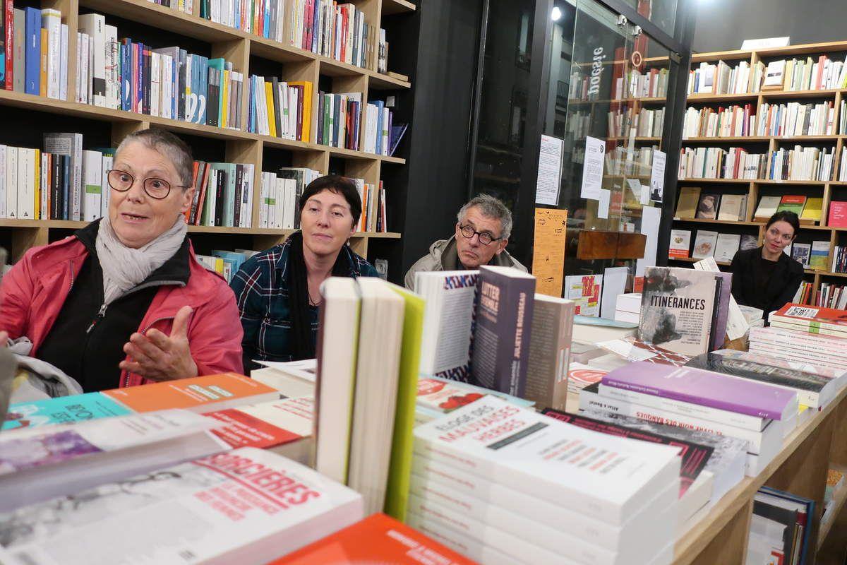 """La Shoah, l'antisémitisme en Pologne et en Europe: l'écrivain Valère Staraselski invité des amis de l'Humanité pour son dernier roman """"Le Parlement des cigognes"""", à Brest, Petite Libraire Rue Danton"""