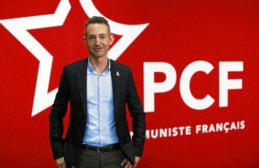 Ian Brossat, qui a été tête de liste du Parti communiste aux Européennes, est aussi maire adjoint de Paris délégué au logement, à l'habitat durable et à l'hébergement d'urgence. (Photo : MAXPPP, Le Parisien)