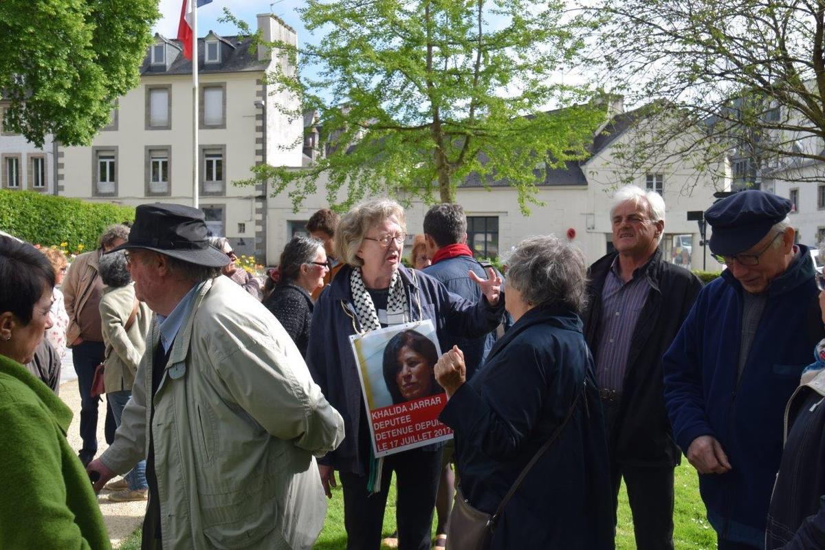 Manif pour Gaza le 15 mai 2018