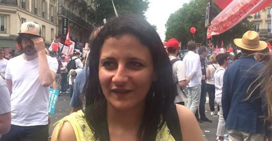 Saliha Boussedra, doctorante en philosophie, responsable de la rubrique Féminisme de Cause commune.  Cause commune n°8 • novembre/décembre 2018