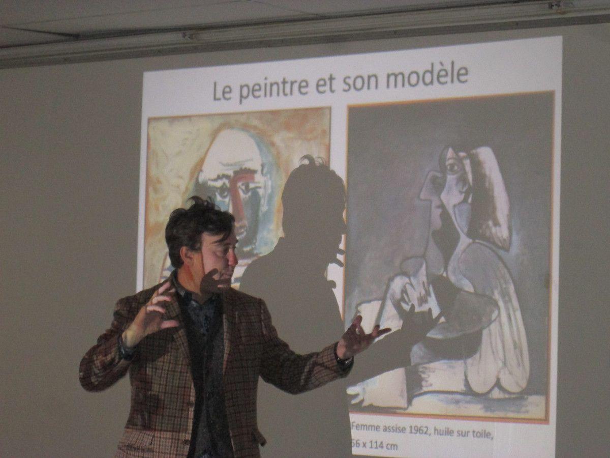 PCF 29, samedi 2 février: visite de l'exposition Mitchell et Riopelle à FHEL de Landerneau et conférence de Renaud Faroux