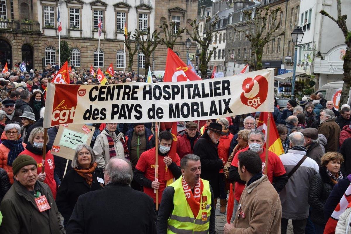 Mobilisation syndicale interprofessionnelle, grève et manifestations à l'appel de la CGT le 5 février: le PCF soutient
