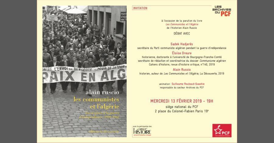 Les communistes et l'Algérie - par Alain Ruscio - Une histoire algérienne, Claude Mazoric