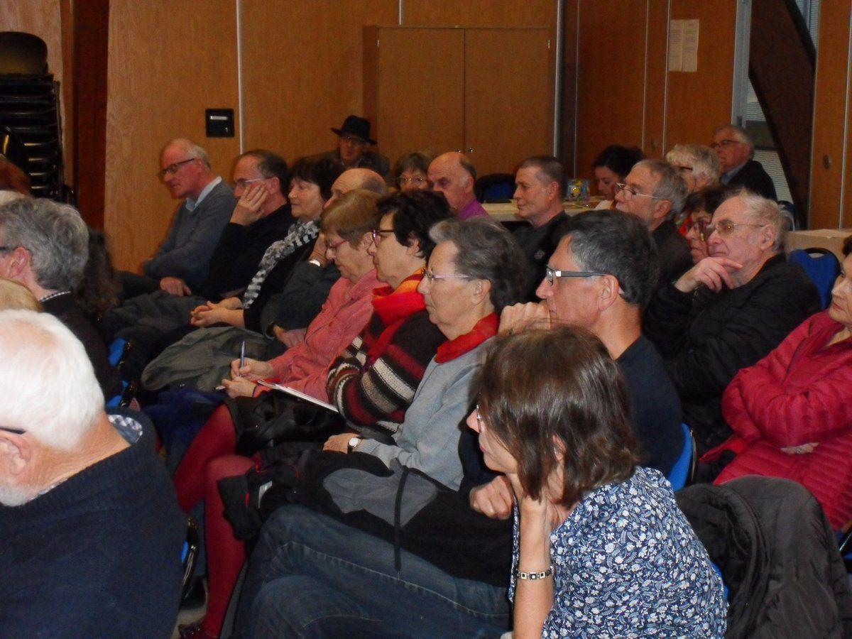 Conférence d'Alain Mila à Quimper sur la Retirada le 27 02 2019 : 1939-2019: quelle attitude adoptons-nous face aux Réfugiés? - Compte rendu Yvonne Rainero