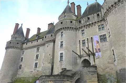 Château de Langeais où Anne de Bretagne a été mariée au roi de France