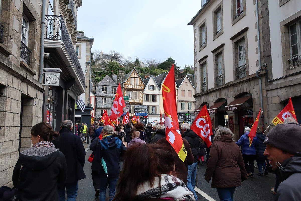 photo Ismaël Dupont photo de la manif du 19 mars 2019 à Morlaix