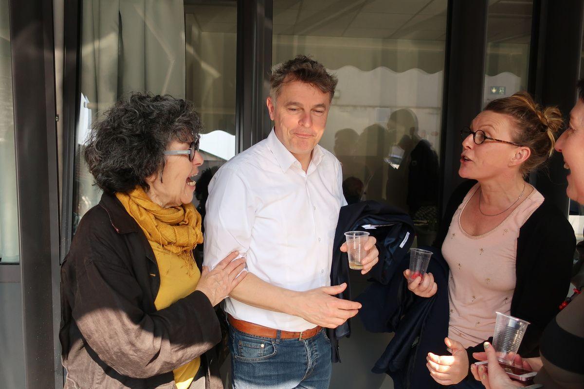 Fabien Roussel à Tours avec nos camarades du PCF Finistère pour l'inauguration de la fédé d'Indre-et-Loire (mars 2019)