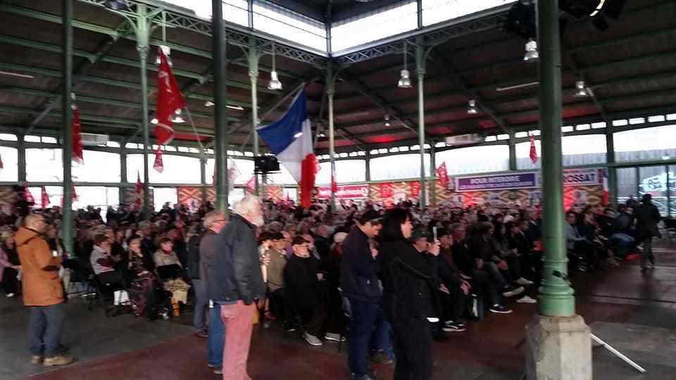 Rennes: 24 Avril: quelques photos du magnifique meeting de Ian Brossat et des candidats de l'Europe des gens devant 1000 personnes