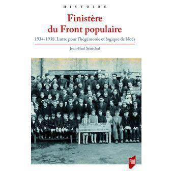 mardi 14 mai, 18h au local du PCF Morlaix: L'historien Jean-Paul Sénéchal raconte le Finistère du Front Populaire, 1934-1938:  Prochain Mardi de l'éducation populaire