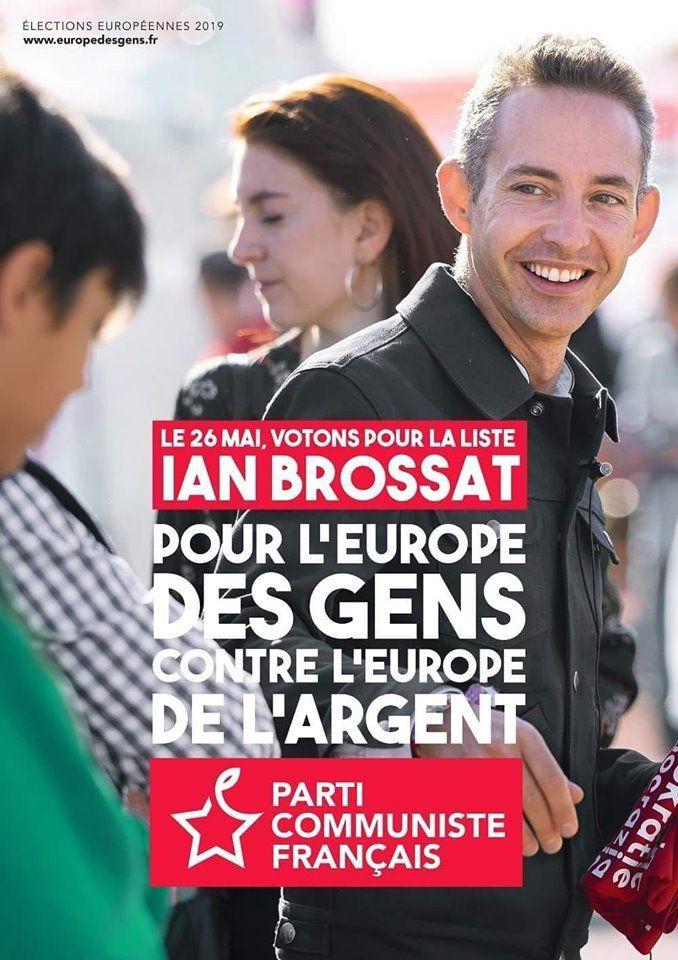 Comité de soutien finistérien à la liste aux élections européennes du PCF conduite par Ian Brossat: rejoignez le comité de soutien!