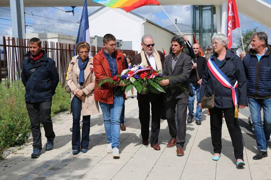 Un hommage a été rendu à ce héros de la résistance et de la libération, né en gare de Morlaix il y a 111 ans. | OUEST-FRANCE