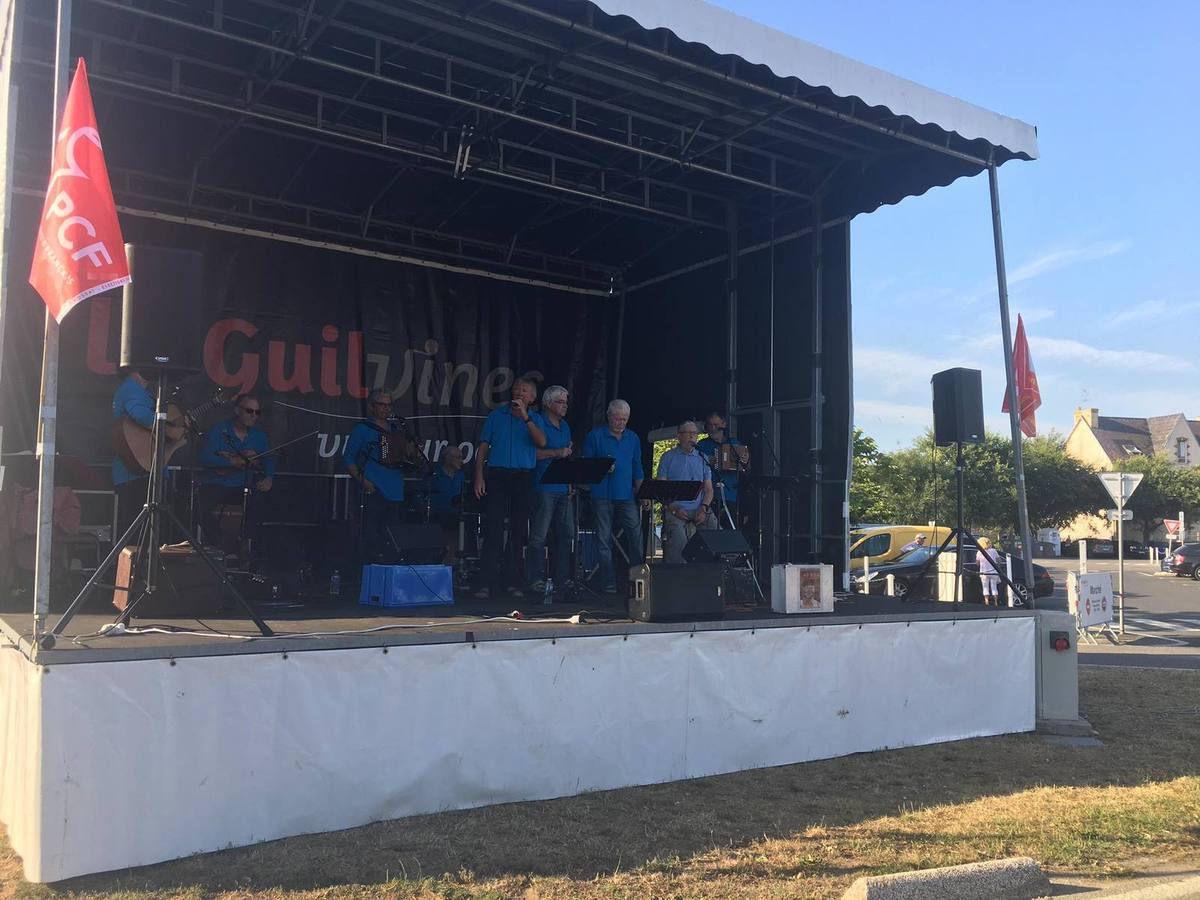 Fête du Travailleur Bigouden, Le Guilvinec, organisée par la section PCF le 6 juillet - retour en images (Page Facebook du PCF Finistère)