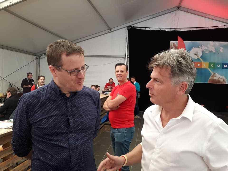 Le PCF et le PTB de Raoul Hedebouw unis pour une Europe des gens contre l'Europe du capital et de la xénophobie