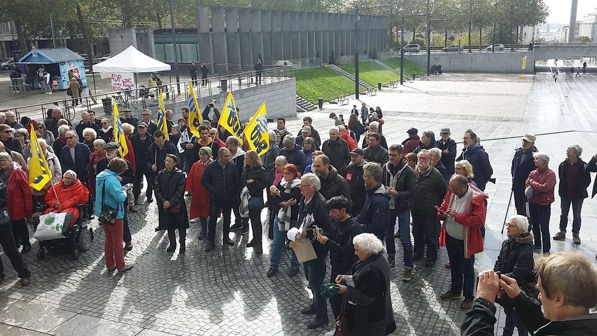 Brest. 150 militants rassemblés pour dire non à la guerre d'Erdogan