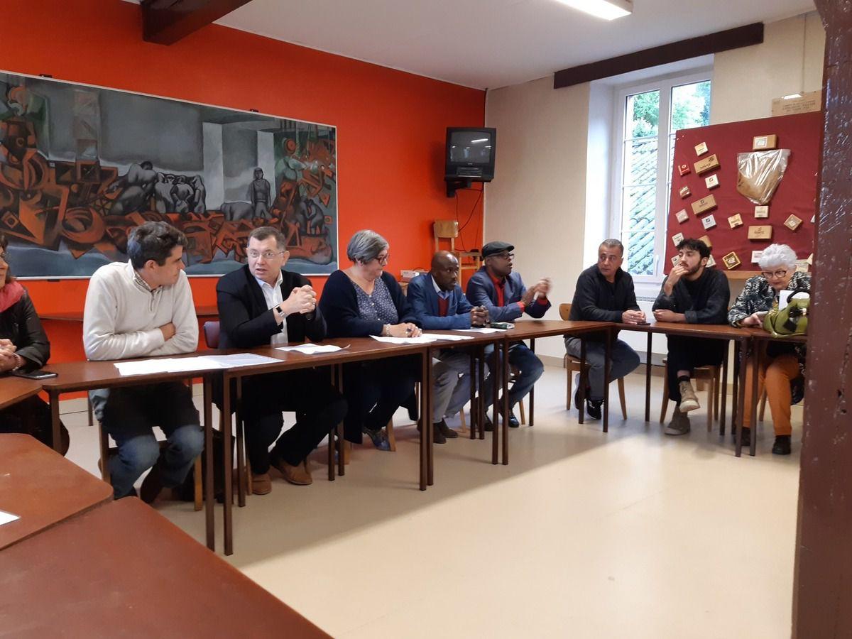 """Municipales: la liste d'union de la gauche """"Morlaix Ensemble"""" conduite par Jean-Paul Vermot lance sa campagne ce 22 octobre 2019"""