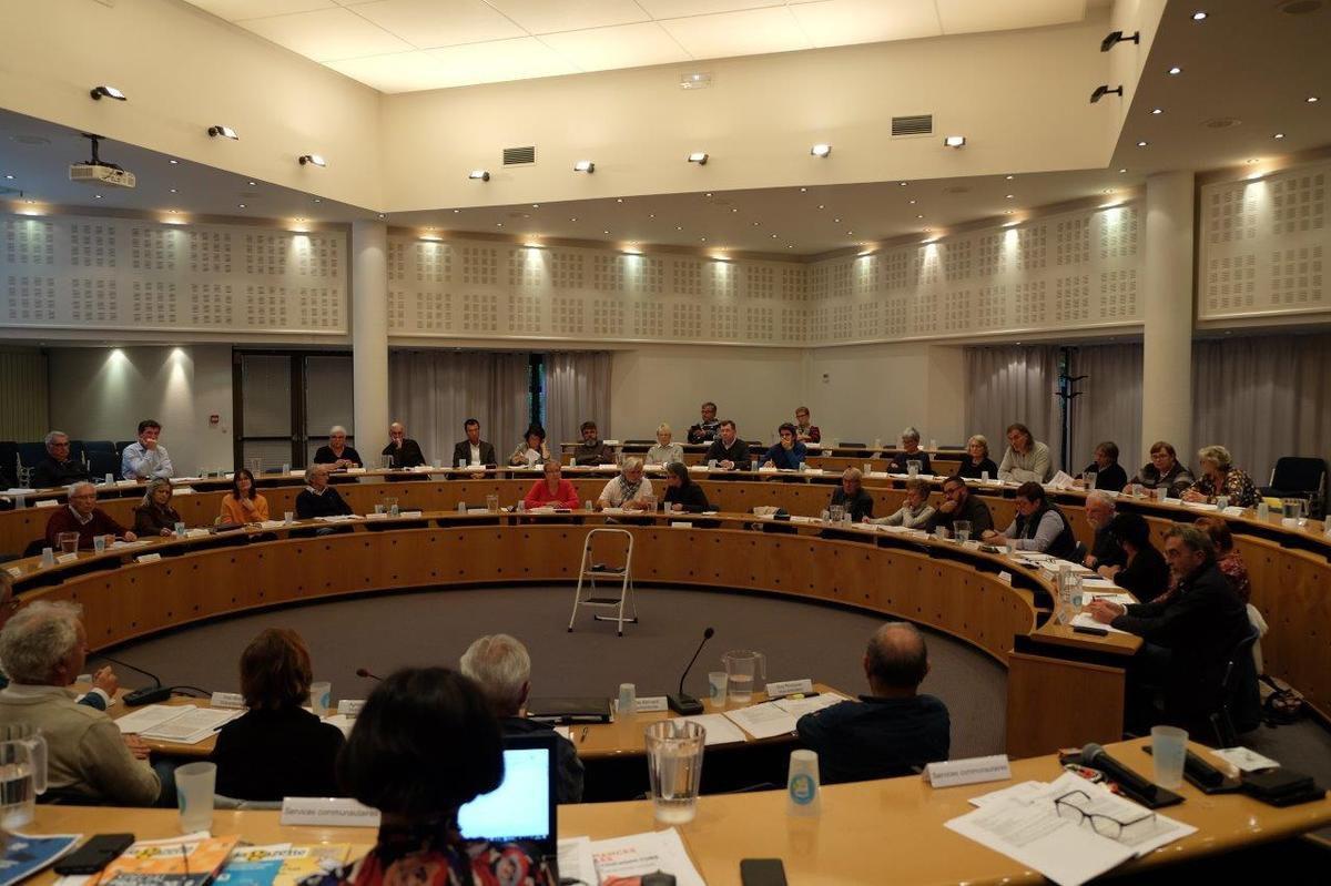 Conseil de communauté du 30 septembre 2019 (photo Pierre-Yvon Boisnard)