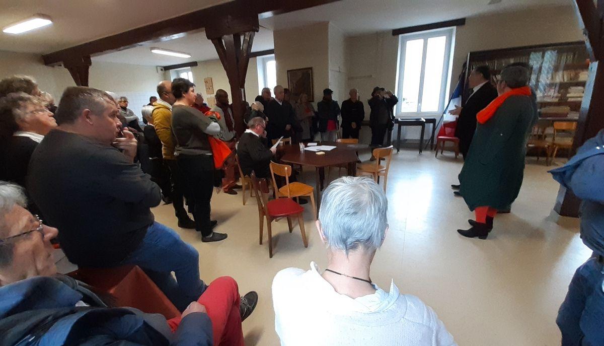 Lancement du comité de soutien à la liste d'union de la gauche Morlaix Ensemble. Une ville sociale, écologique et solidaire - 2 novembre 2019