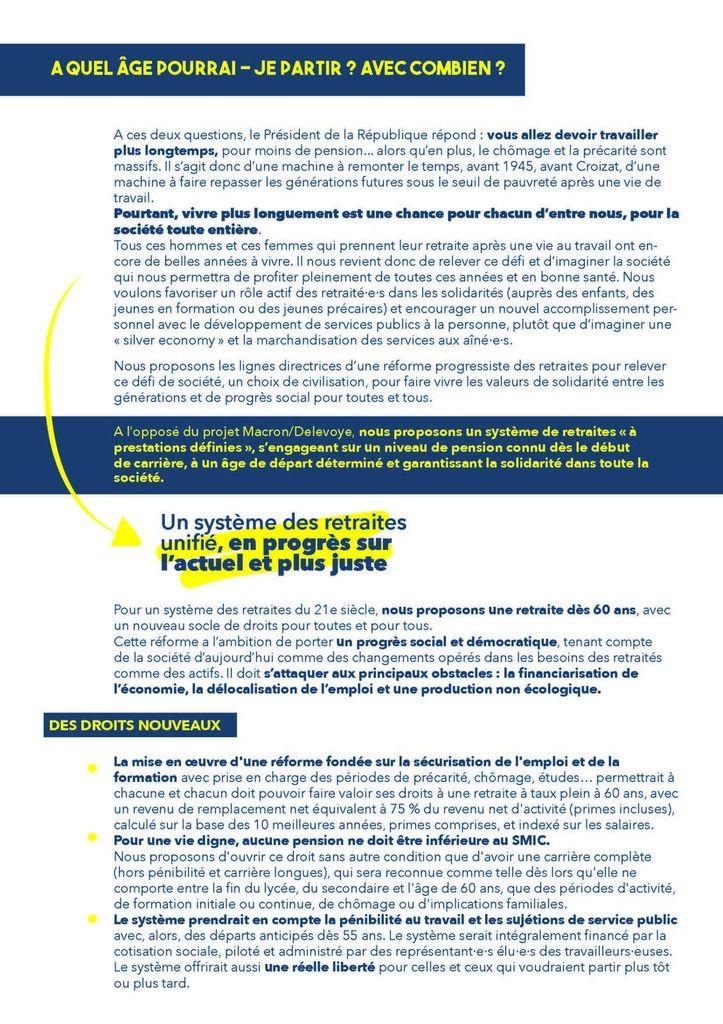 PROPOSITIONS DU PCF POUR UNE REFORME DES RETRAITES DIGNE DU 21eme SIECLE