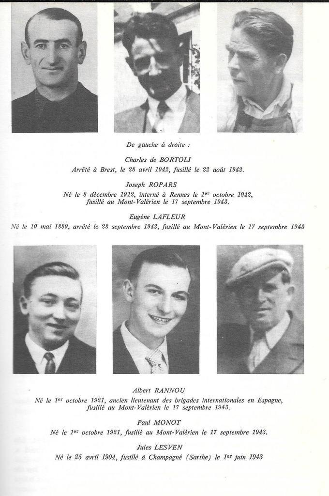 1920-2020 - 100 ans d'engagements communistes en Finistère: 3/ Albert Rannou (1914-1943)