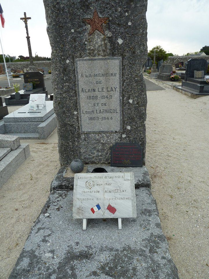 Photo Gaston Balliot - cimetière de Lesconil
