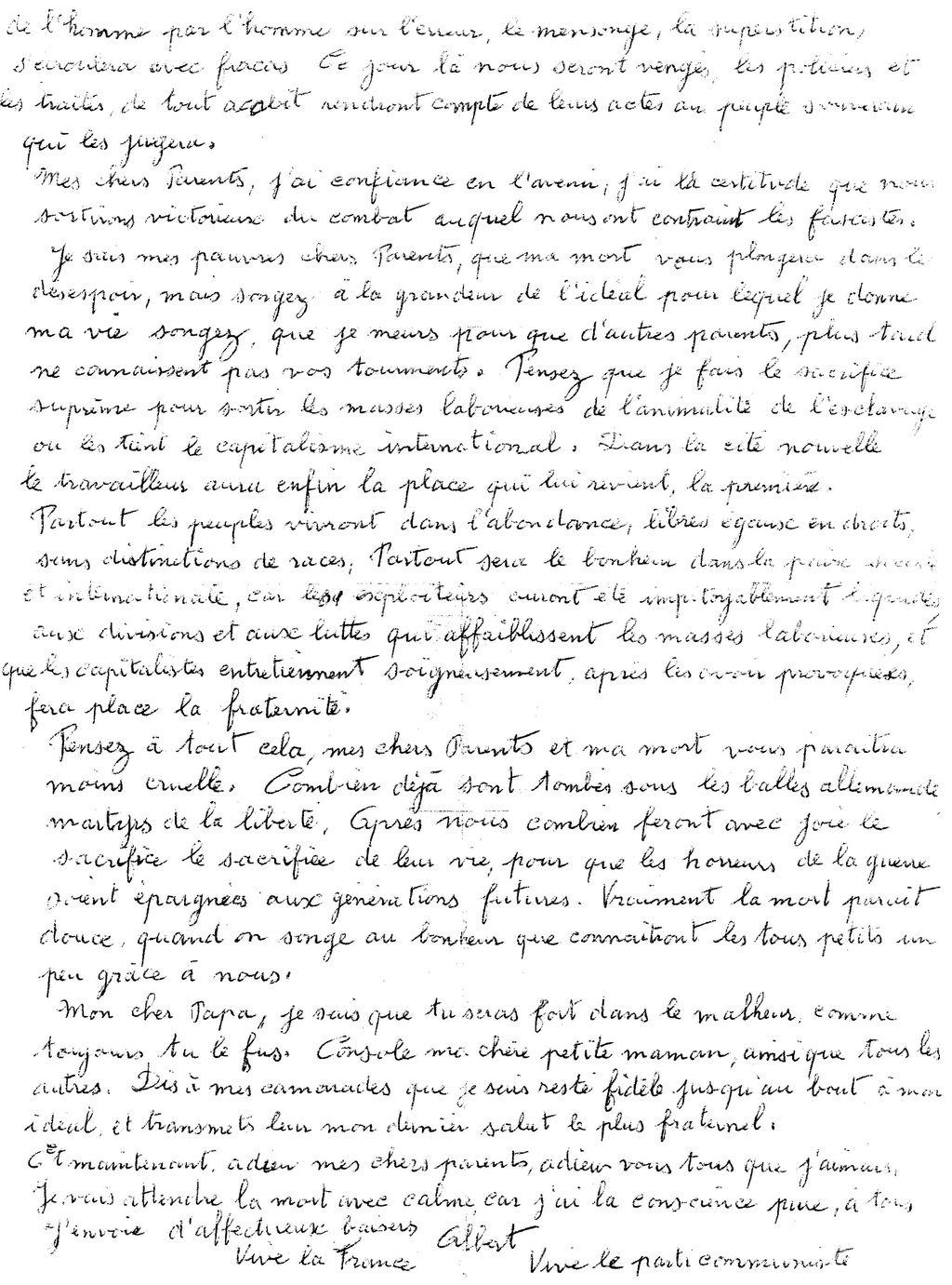 1920-2020: 100 ans d'engagements communistes en Finistère: 13/ Albert Abalain (1915-1943)