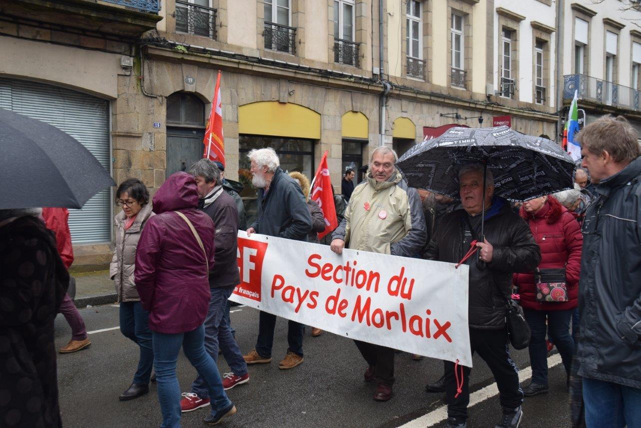 Morlaix 16 janvier - Photo Pierre-Yvon Boisnard