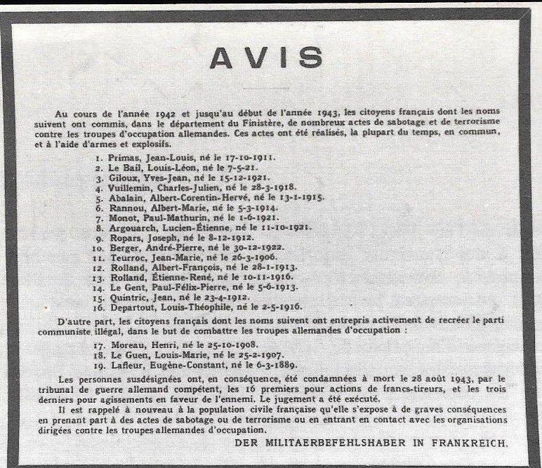 1920-2020: 100 ans d'engagements communistes en Finistère: 20/ Paul Monot (1921-1943)