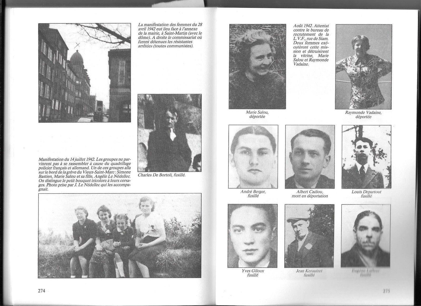 1920-2020: 100 ans d'engagements communistes en Finistère: 28/ Raymonde Vadaine, née Riquin (1914-2001)