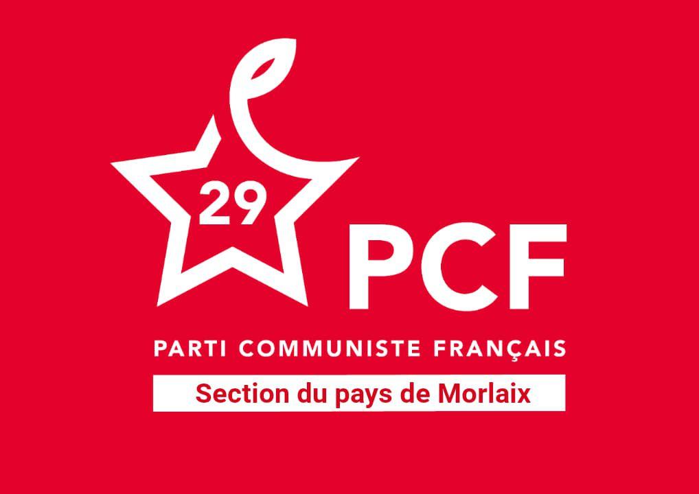 Appel du PCF pays de Morlaix au nouveau rassemblement contre la réforme des retraites mercredi 29 janvier à 11h place des Otages