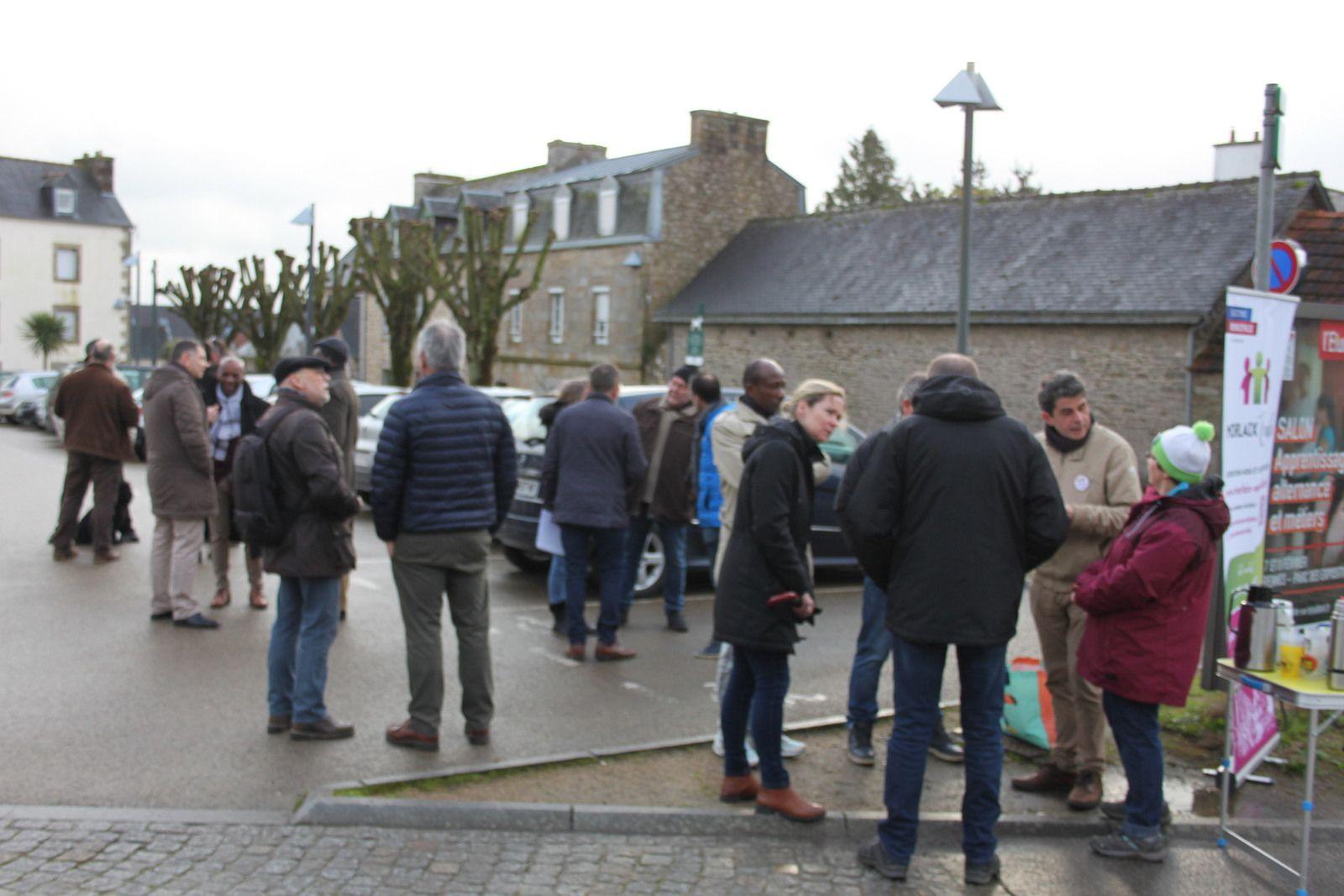Parole aux quartiers - Morlaix Ensemble à Ploujean ce samedi 1er février au matin (Photos Jean-Luc Le Calvez)