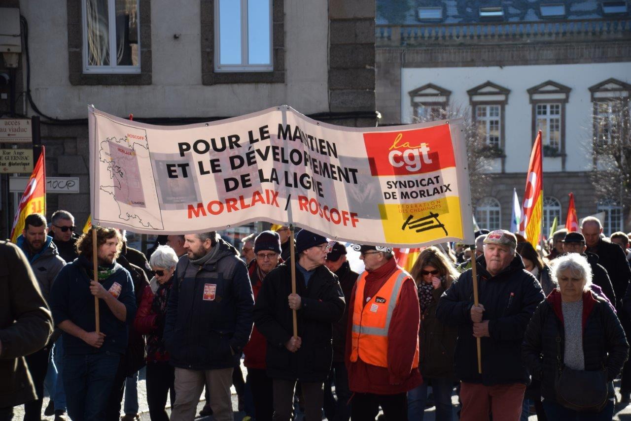 Photo Pierre-Yvon Boisnard 6 février 2020 Morlaix