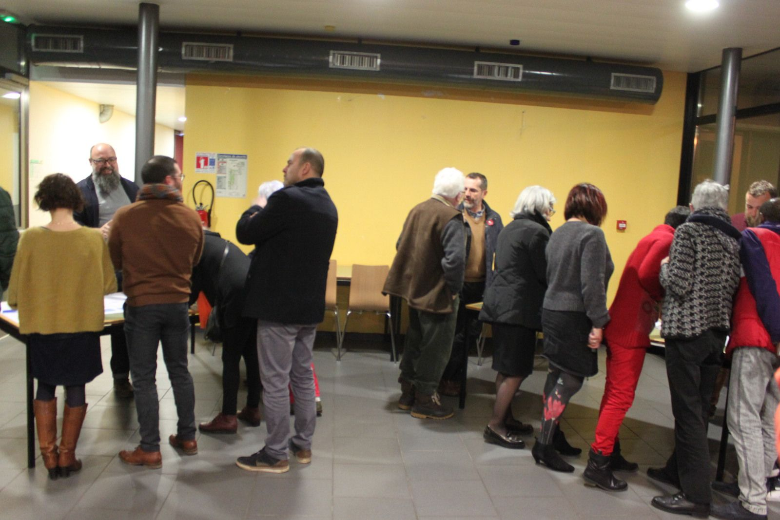 Mieux vivre en vivre - L'atelier participatif de Morlaix Ensemble le 6 février à l'auberge de jeunesse - Photos Jean-Luc Le Calvez