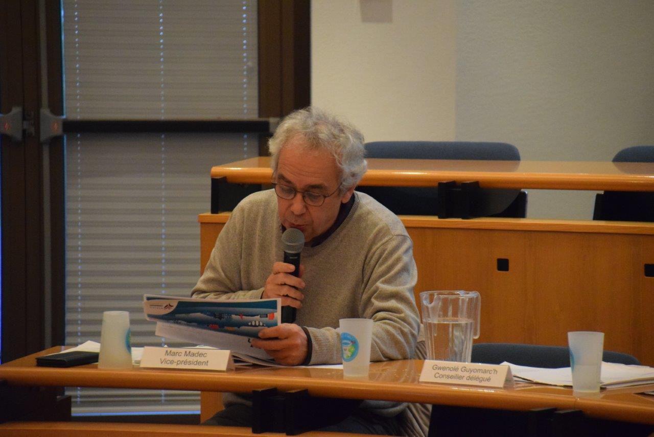 Conseil de communauté de Morlaix-Co du 10 février 2020 - Photos Pierre-Yvon Boinard et bref compte rendu