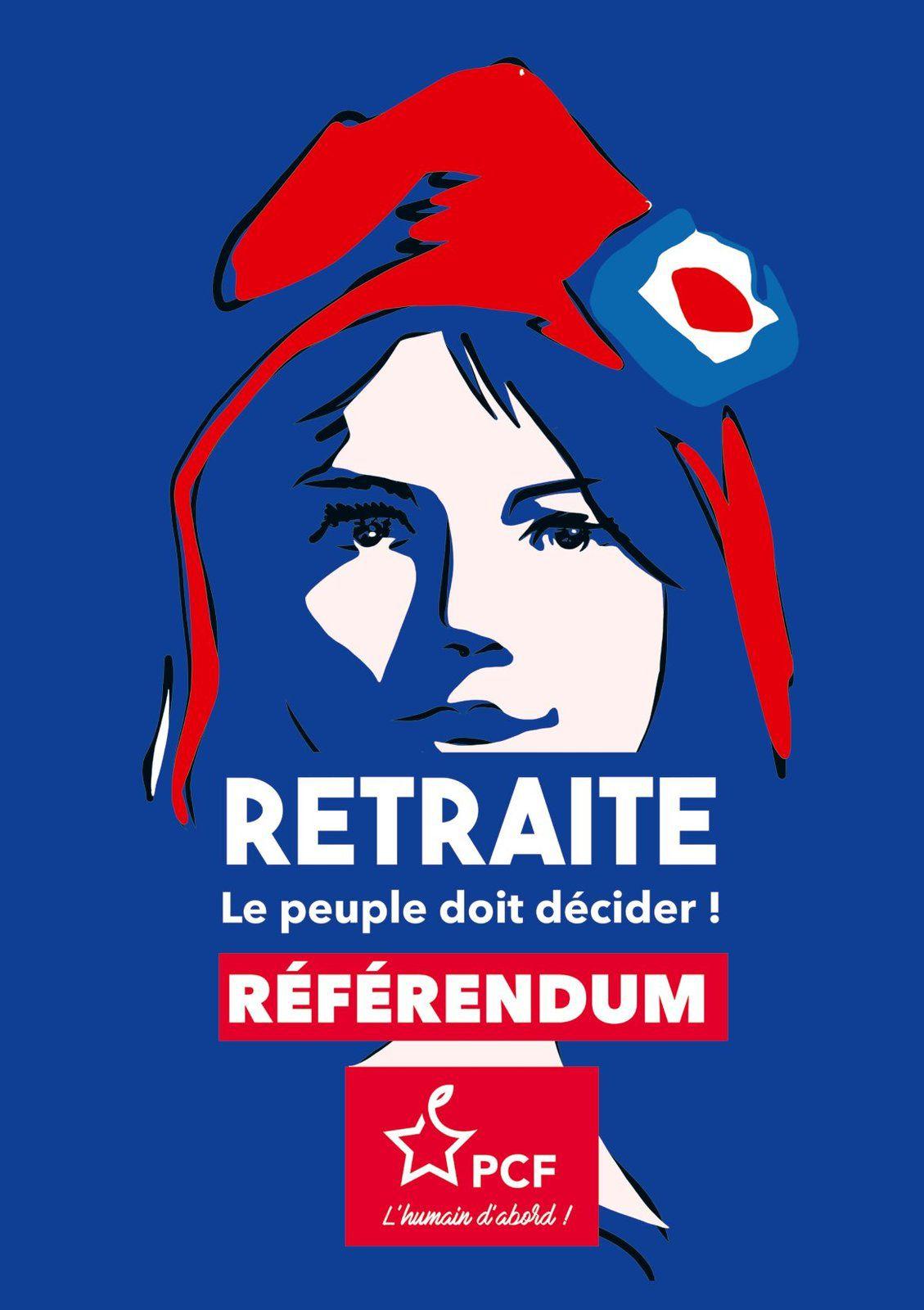 Appels des communistes du Finistère aux manifestations contre la réforme des retraites du jeudi 20 février