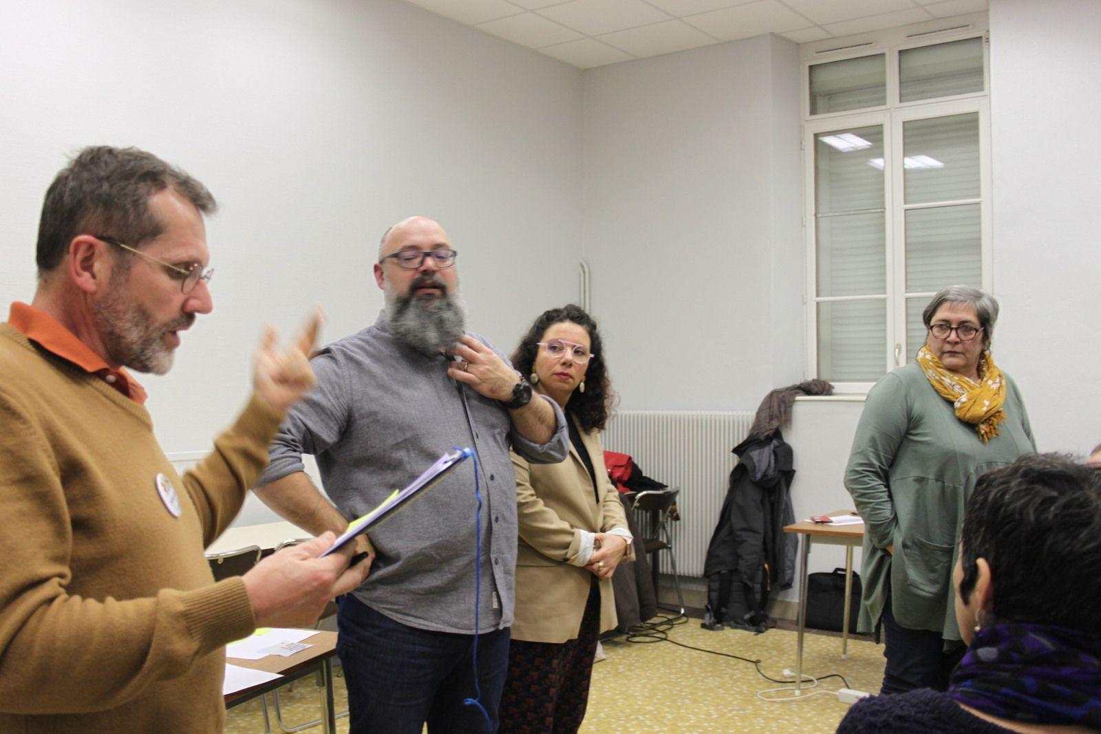 Morlaix, pour une ville écologique - Photos de l'atelier participatif de Morlaix Ensemble le jeudi 20 février à Kernéguès (Jean-Luc Le Calvez)