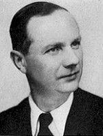 Albert Jaouen en 1946 - militant communiste et résistant finistérien (originaire de Quimper), ancien des Brigades Internationales, il fut sénateur communiste du Finistère de décembre 1946 à novembre 1948