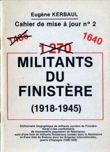 1920-2020: 100 ans d'engagements communistes en Finistère - 57/ Eugène Kerbaul (1917-2005)