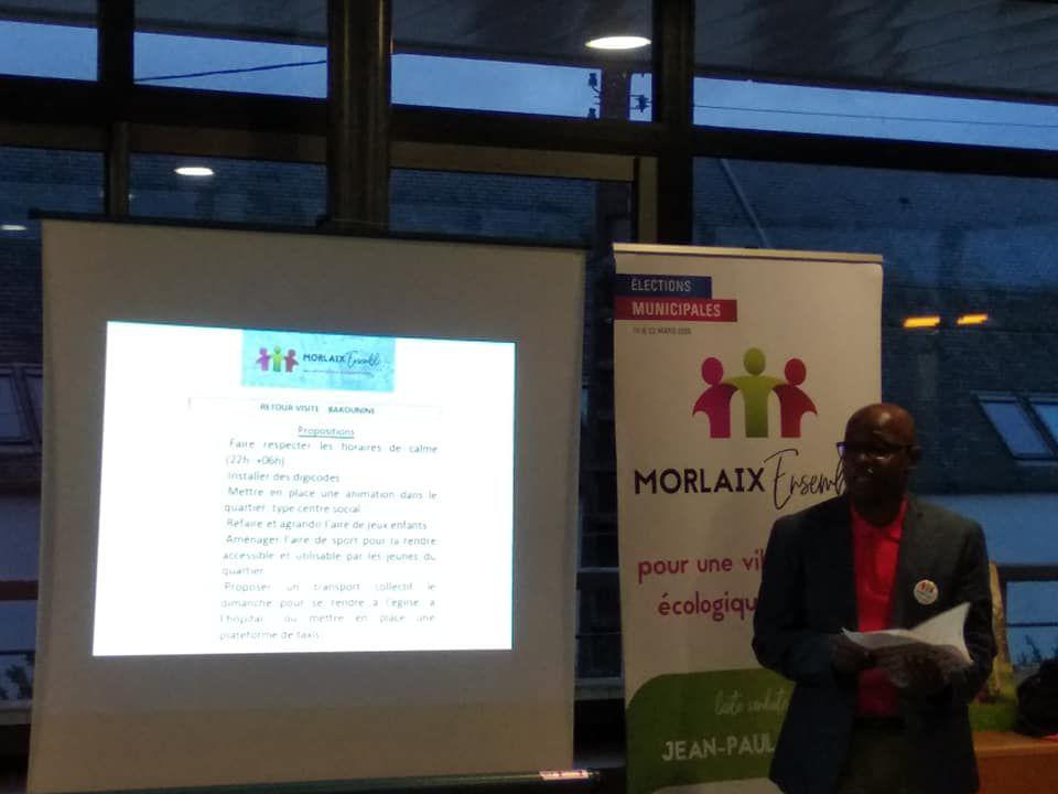 Ahamada Zoubeiri expose les problèmes, attentes et propositions des habitants des immeubles Bakounine à La Boissière