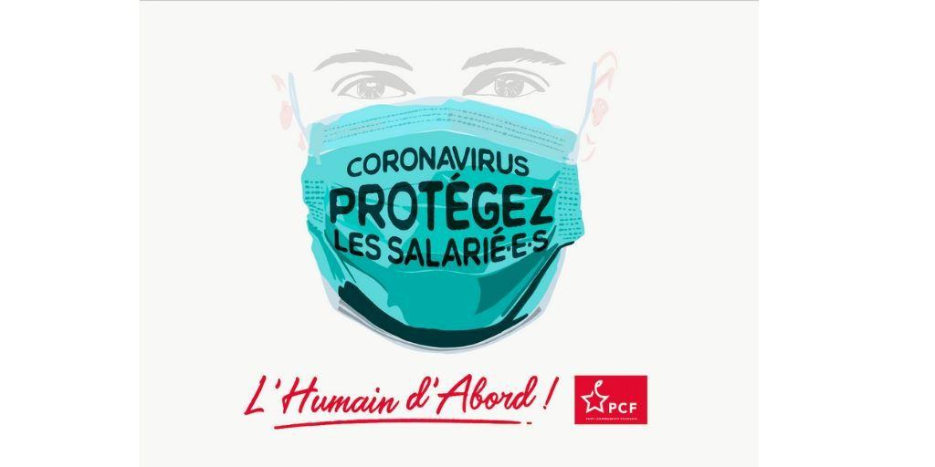 Coronavirus : Que comptez vous faire pour protéger les salarié-es ? (Fabien Roussel au gouvernement à l'Assemblée Nationale-PCF)