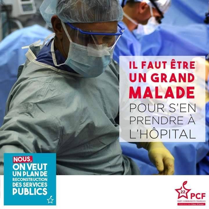Le tour de France des hôpitaux qui annonçait la catastrophe sanitaire - Diego Chauvet, Jeudi, 2 Avril, 2020 - L'Humanité