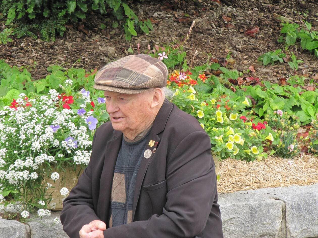 Thomas Hillion, grand résistant, titulaire de la légion d'honneur et de la médaille de la résistance, militant communiste dans les Côtes d'Armor, est décédé à l'âge de 94 ans - photo Ouest-France