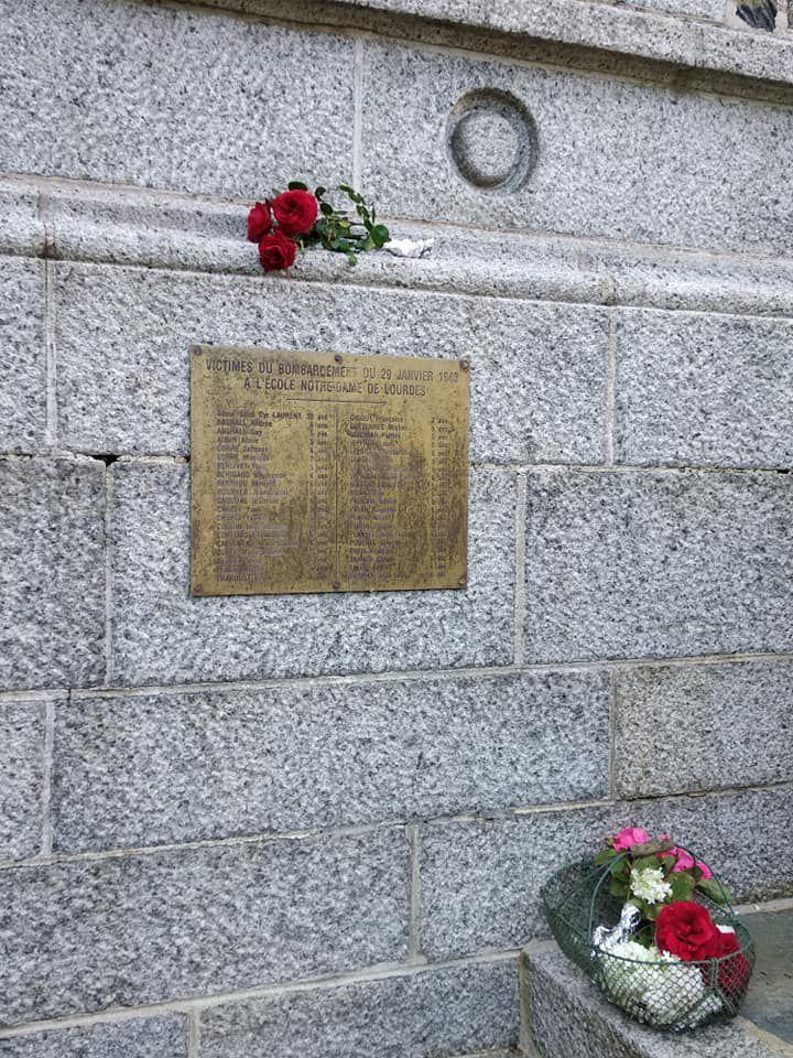 Morlaix - 8 mai 2020 - 8 mai 1945:  75 ans après la fin de la seconde guerre mondiale et la chute du nazisme